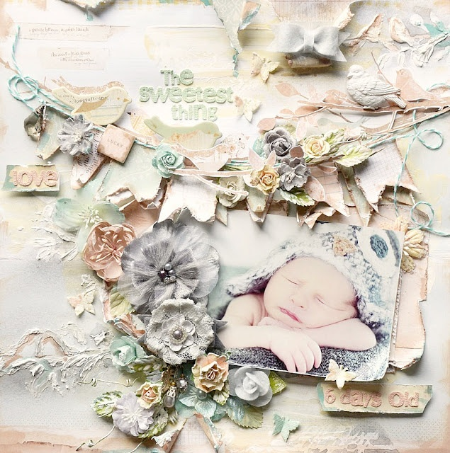More beautiful shabbiness from Stacey Young....thankyou for pinning my work:)
