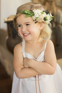 flower crown flower girl - Google Search