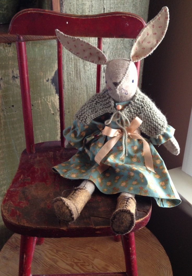 Miss. Maggie Rabbit By Julie C.   Posie Rosy Little Things pattern