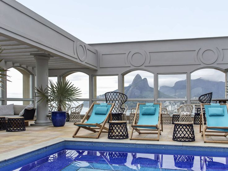 Hotel Caesar Park Ipanema .: Rio de Janeiro, Brazil • Take advantage of recreational opportunities offered, including an outdoor pool, a sauna, and a fitness center. This Mediterranean hotel also features complimentary wireless Internet access, concierge services, and babysitting/childcare (surcharge). Guests can catch a ride to nearby destinations on the area shuttle (surcharge).