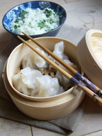 Petites bouchées vapeurs façon asiatique