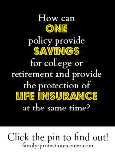 How can one policy serves as a savings vehicle and a life insurance policy? Find out at http://www.family-protection-center.com/blogs/what-is-index-universal-life-insurance.php#sthash.AlrDJ8y7.dpbs
