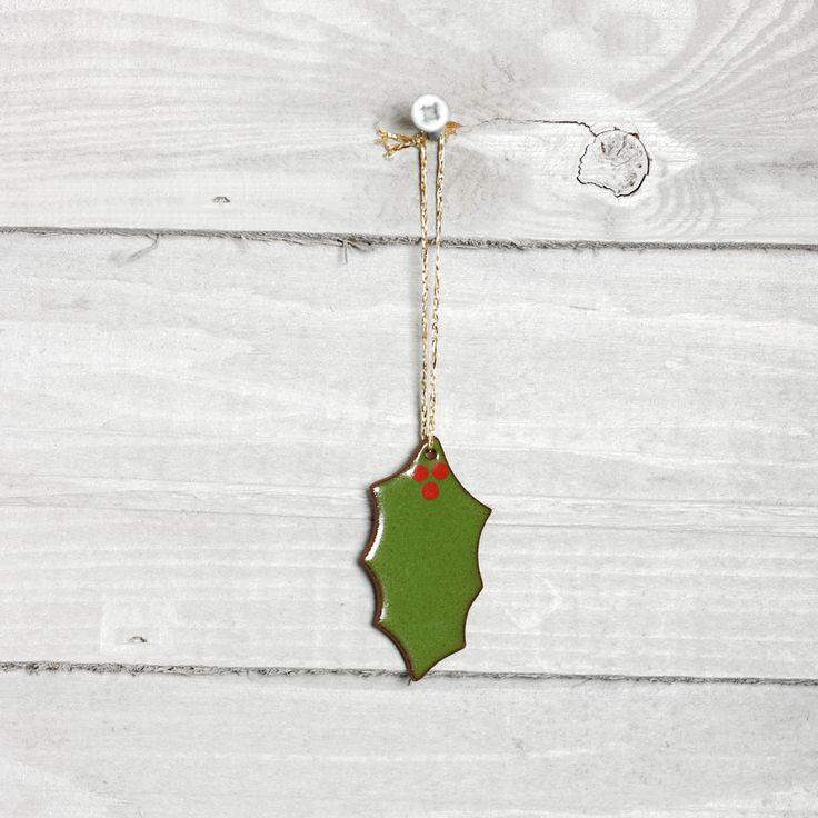 Decoration, holly leaf