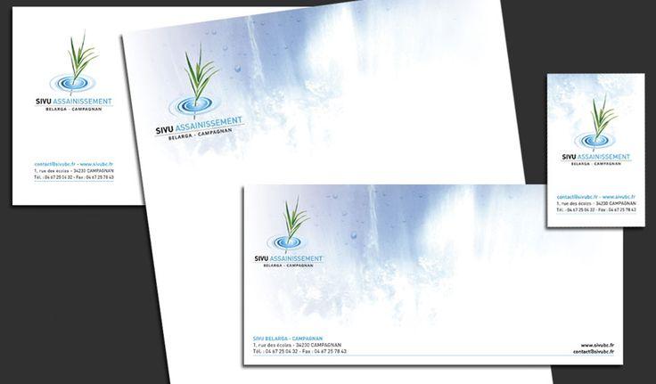 Carte de correspondance, entête, enveloppe, carte de visite © Pixfolio