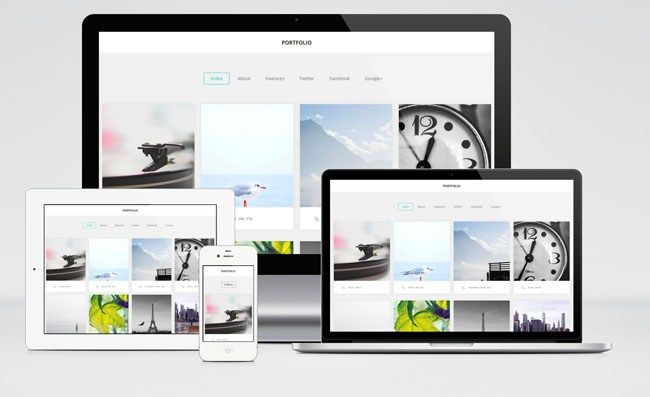 Clean and Modern Wordpress Portfolio Themes Free