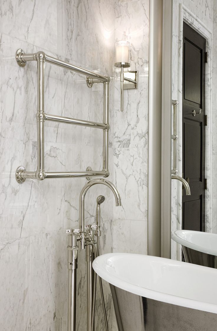 Waterworks bath in Walker Tower, New York, NY