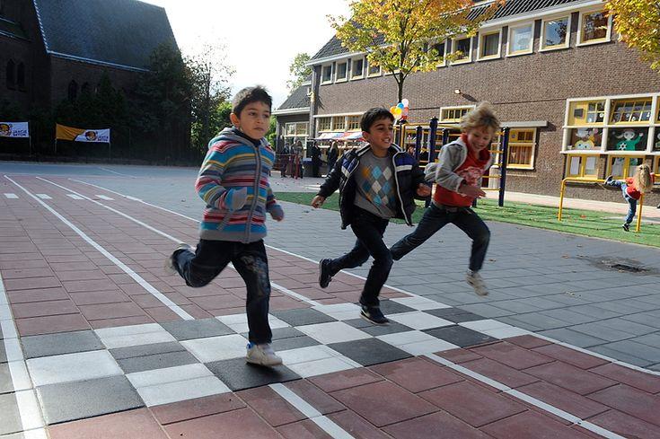 Scholen in Nederland beginnen met Gezond Schoolplein | PO-raad