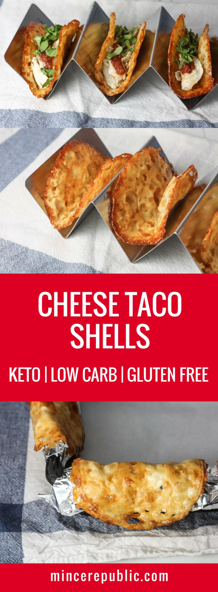 Cheese Taco Shells recipe   Keto Low Carb Gluten Free   mincerepublic.com