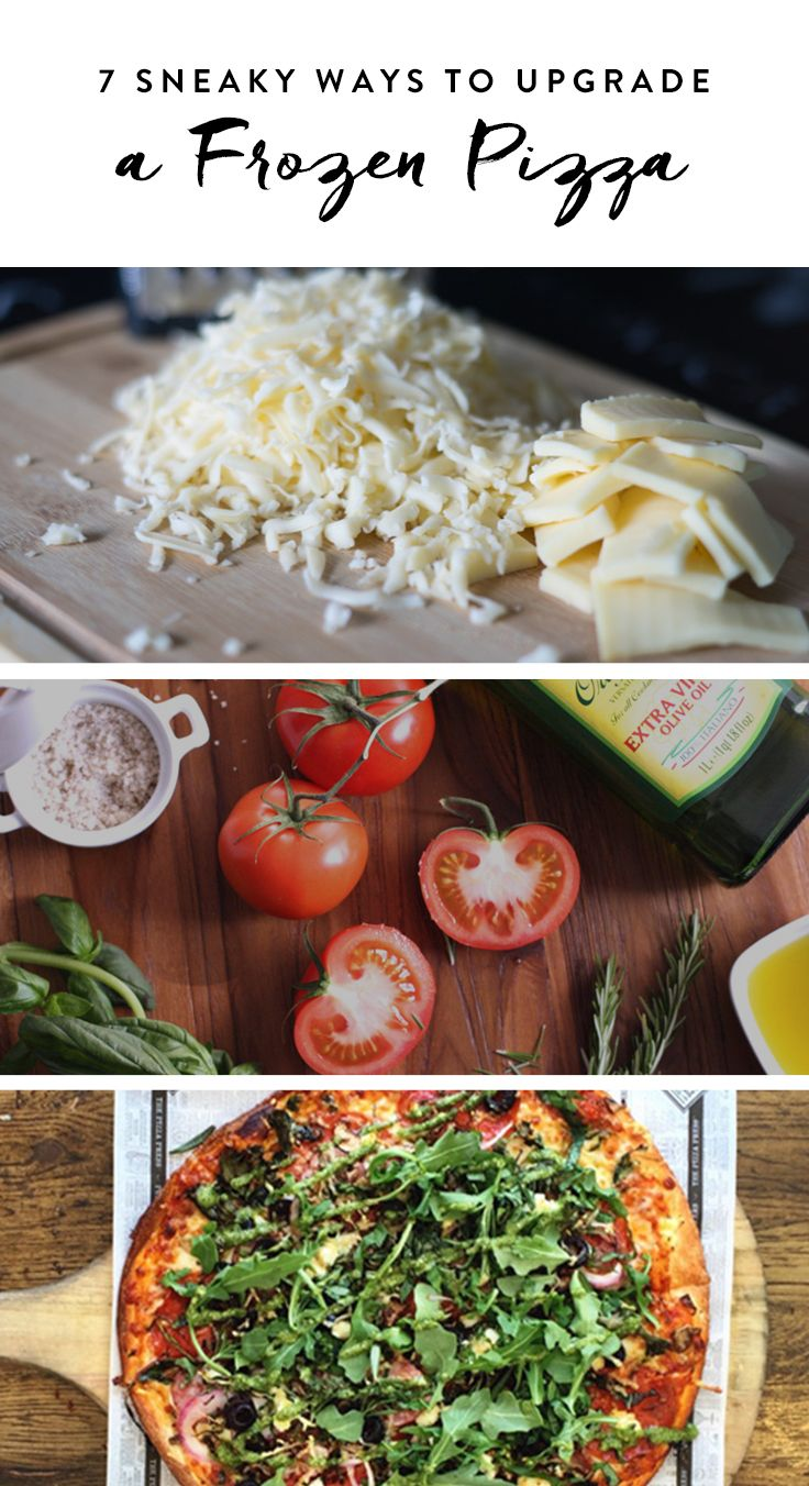 Try these kitchen hacks to make a frozen pizza fresh and tasty.