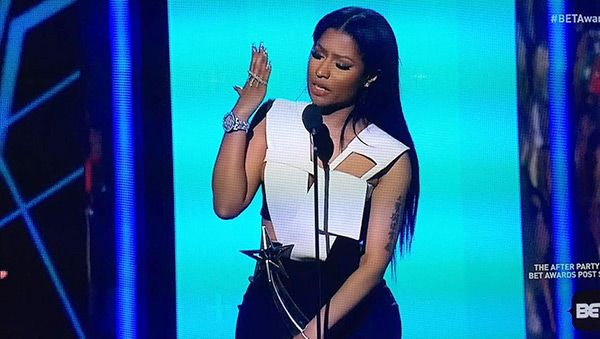 Nicki Minaj Makes Embarrassing Flub During Speech At BETAwards
