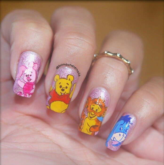 Tigger Nails: 17 Best Images About Nail Art On Pinterest