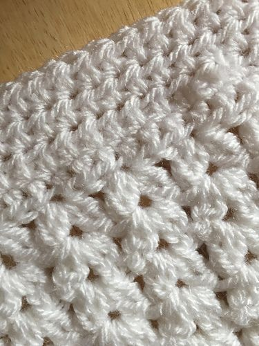 Premature Baby Blanket - free crochet pattern by Vicky Coleman