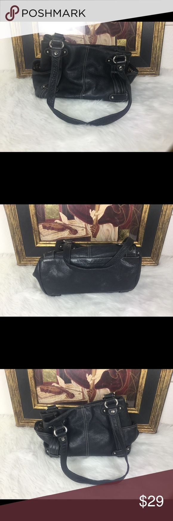 Tignanello Leather Handbag 🎉 Check out this great designer Tignanello Handbag  measures 12x9 Tignanello Bags Satchels