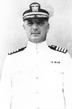 Killed in Action, Awarded the Medal of Honor, Submariner, Captain Albert Harold Rooks (USNA 1914). He was Commanding Officer of the heavy cruiser USS Houston (CA-30) during the first three months of the Pacific War. He fought his ship hard until they were the last ship standing. On March 1, 1942 in the Naval Battle of the Java Sea, She was sunk in surface action. Of the original crew of 1,061, only 368 survived-including 24 of the 74 USMC detachments only to become prisoners of war.