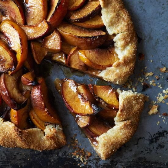 Peach Crostata | Free-form tarts (sometimes called crostatas) are an ...