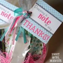 Note to Say Thanks – Teacher Gift