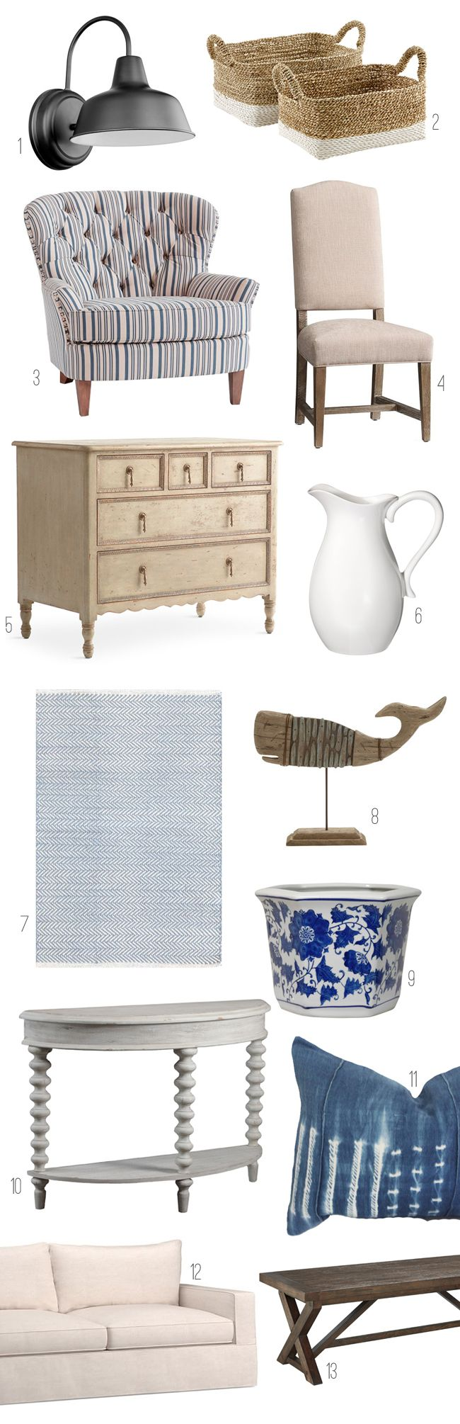 6 Take Away Tips: A Beautiful New England Home - The Inspired Room