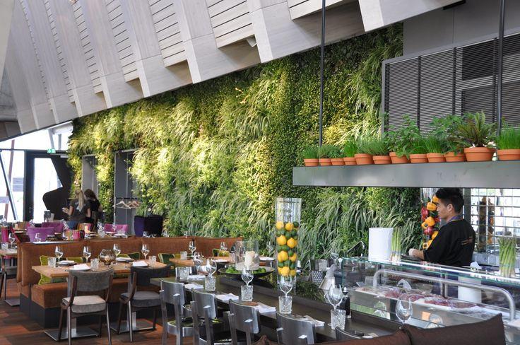Mur Vertiss réalisé par Boyman à Hamburg dans un restaurant.