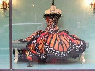 Monarch butterfly dress :3