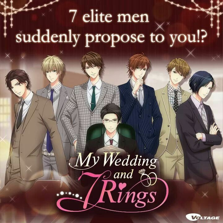 68 best My wedding and 7 rings images on Pinterest Voltage games