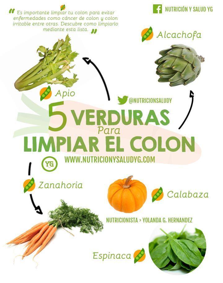 5 verduras para limpiar tu colon | Salud, Medicine and