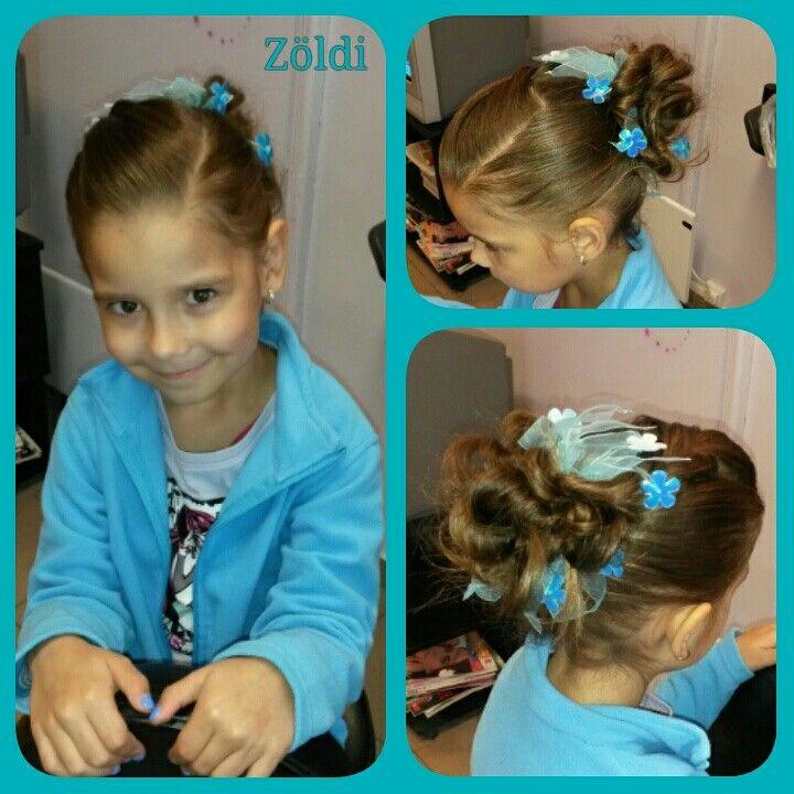 #koszorúslány #frizura