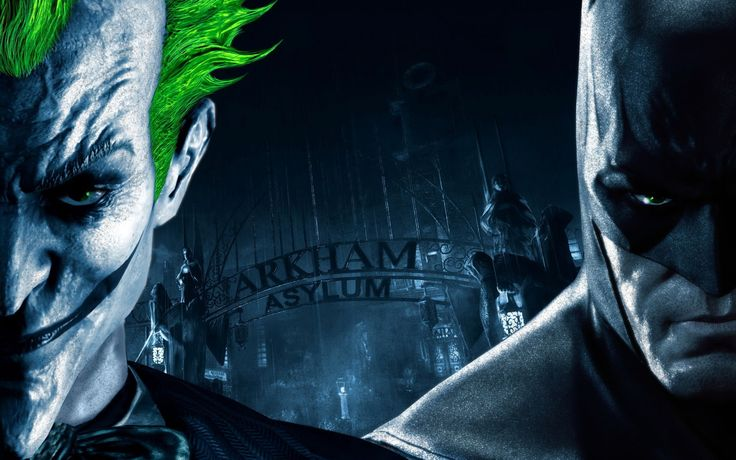 Arkham Asylum entrance 2880x1800 wallpaper