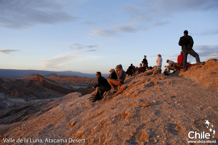 Feel, think, and live the sensation of being in Valle de la Luna, Chile. (it´s like Mars!)