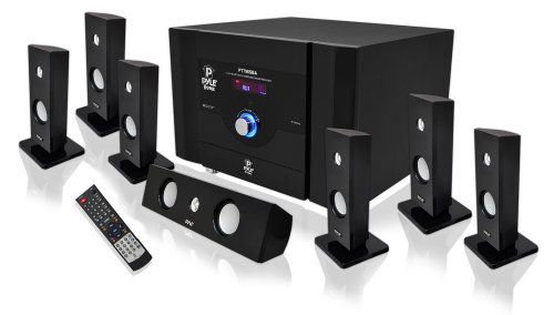 PRODUCT DETAILS : This 7.1 speaker home theater system from Pyle turns your TV room into a screening room! It comes with seven satellite speakers, including one center speaker, and [ ]