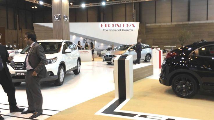 Queremos compartir el video del stand diseñado y construido para HONDA MOTOR EUROPE en el Salón del Automovil de Madrid, por *TT by Think Tank