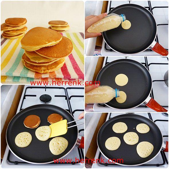 Pankek Tarifi-pankek nas�l yap�l�r,pankek her renk,kolay pankek,pancake,sade pankek tarifi,kahvalt� i�in,pankek tarifi resimli,�ocuklar i�in,iyi pankke tarifi,kahvalt�l�klar,
