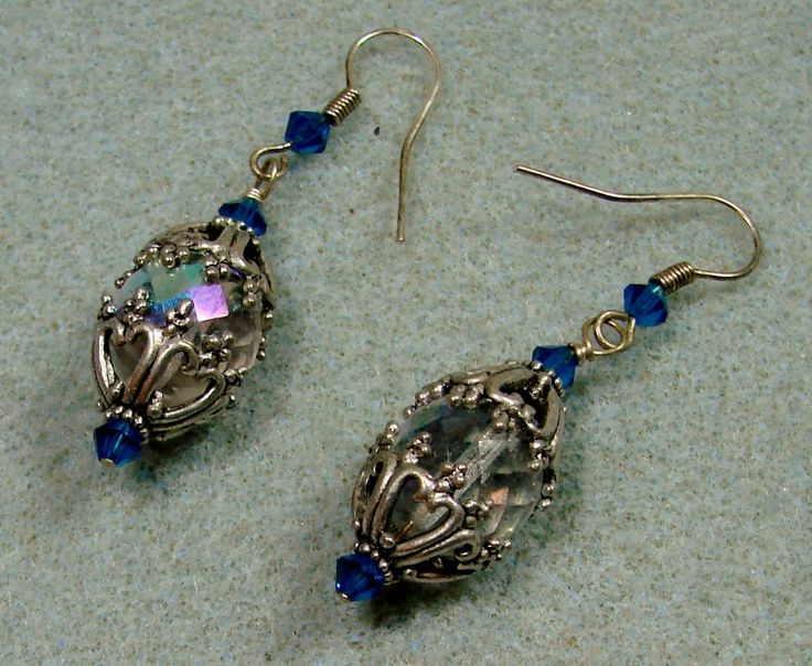Faberge' Egg Earrings