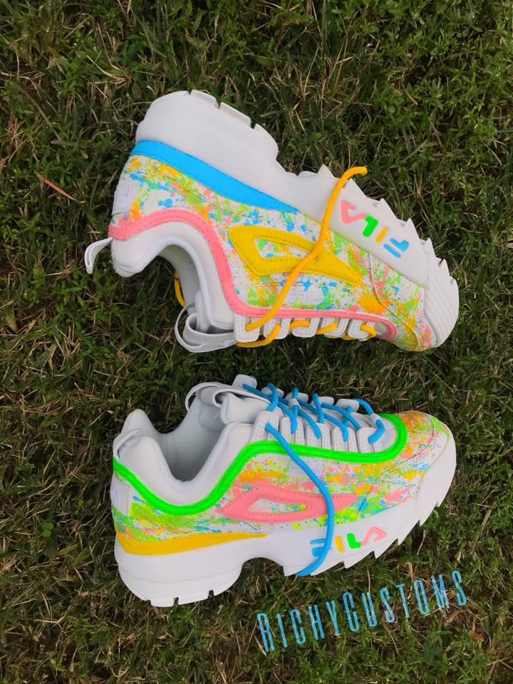 Home | RichyCustoms | Sneaker boots, Nike shoes women, Fila