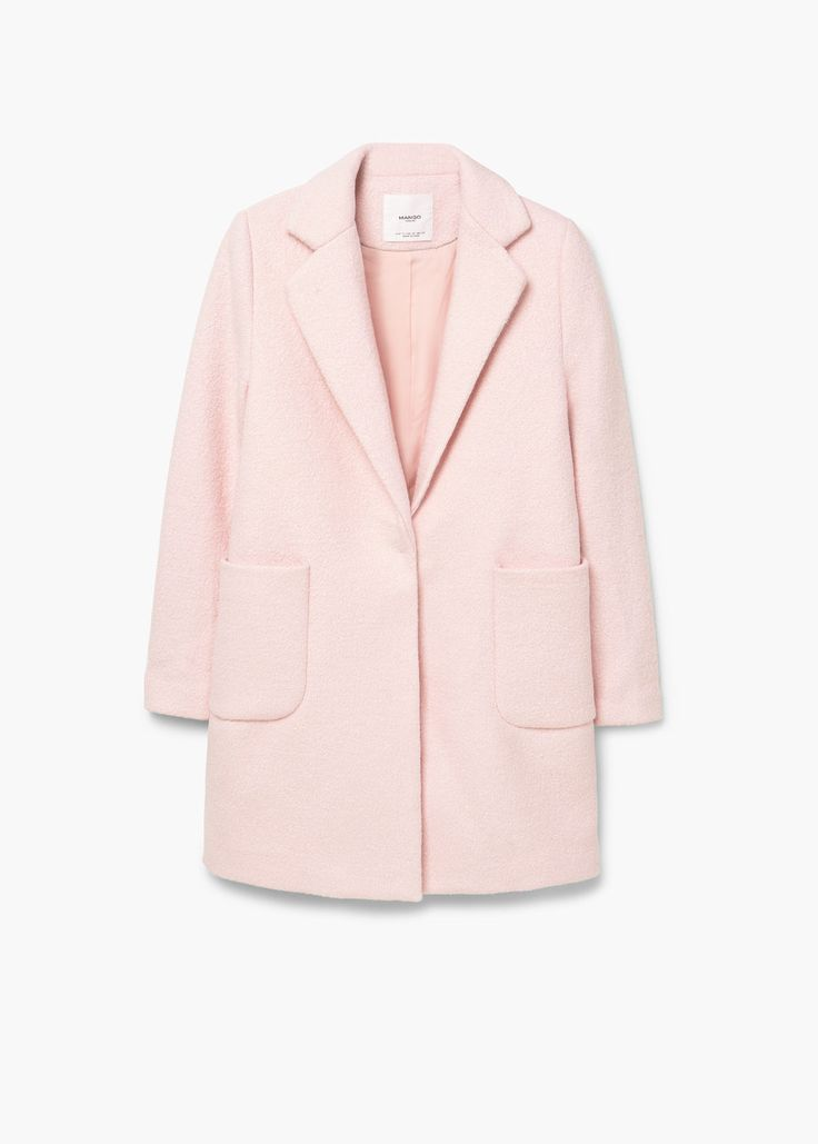 Best 25  Pink wool coat ideas on Pinterest | Light pink coat, Best ...