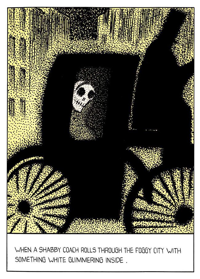 from Dino Buzzati's Poema a fumetti (1969),