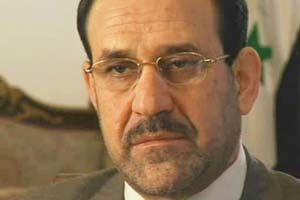 NOURI AL-MALIKI: Iraqi politician. PM of Iraq from 2006-2014. Secretary-general of the Islamic Dawa Party and has been VP of Iraq since 2014. Malaki succeeded the Iraqi Transitional Government. Maliki began his political career as a Shia dissident under Saddam Hussein's regime in the late 1970s and rose to prominence after he fled a death sentence into exile for 24 years. In late 2014, Maliki accused the US of using ISIL as a pretext to maintain its military presence in Iraq.