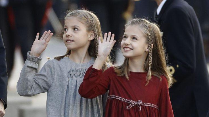 SSAARR la Princesa Leonor y la Infanta Sofía