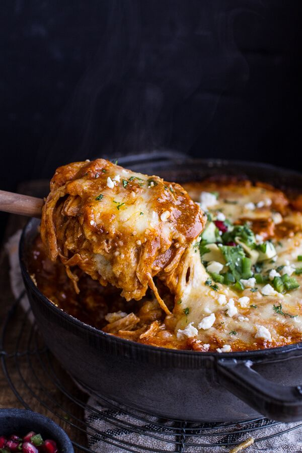 One-Pot Cheesy Turkey Tamale Pie | halfbakedharvest.com @hbharvest