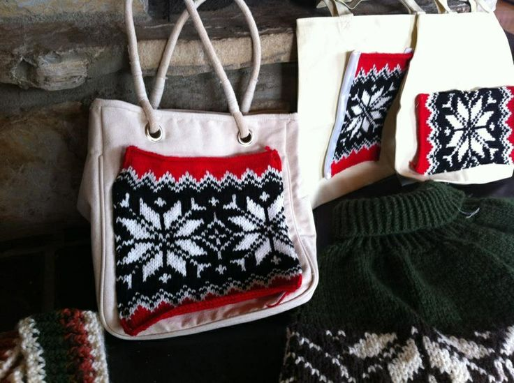 Suddenly a Norwegian bag Knitting DIY