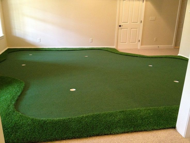 Custom Golf Room Installation