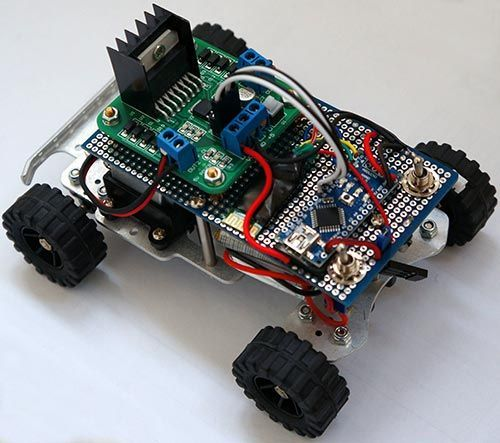 Picture of Simple RC car for beginners (Android control over Bluetooth) (by www.danielprimo.es )