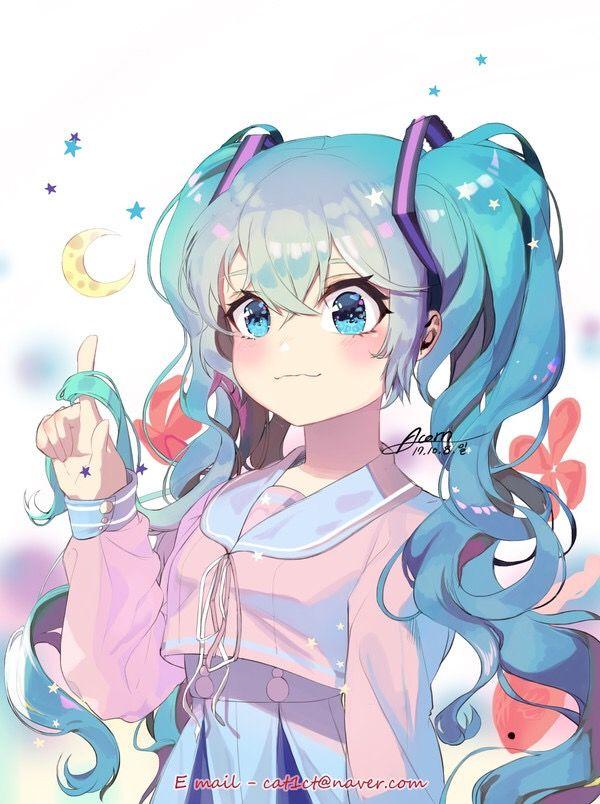 Best 25 hatsune miku ideas on pinterest vocaloid anime - Cute anime miku ...