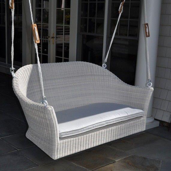 Kingsley-Bate Cape Cod Wicker Porch Swing