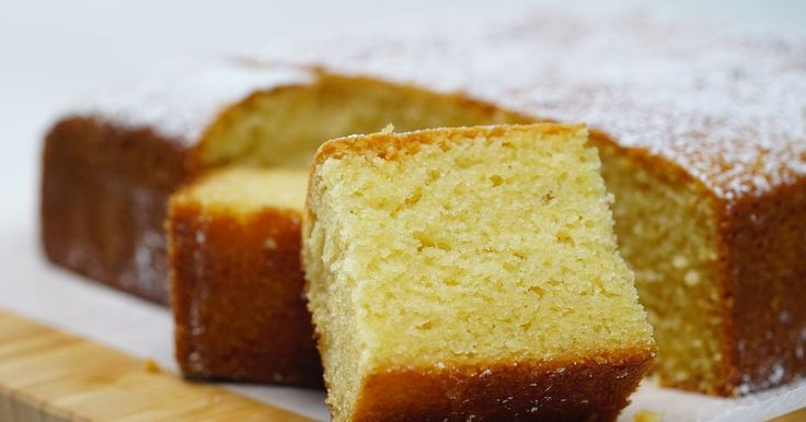 This moist butter cake is so simple to make and perfect for afternoon tea.