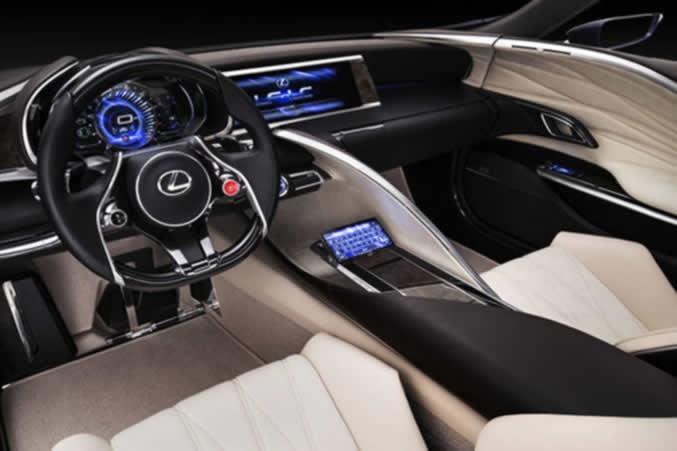 Lexus LF-LC Blue Opal Concept Revealed in Sydney Auto Show
