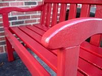 DIY Upcycling Wood Furniture for Outdoor Use - It might be tempting to re-purpose indoor furniture for outdoor use, but it's best to read up on how to paint and treat those wooden pieces first. Check it out!