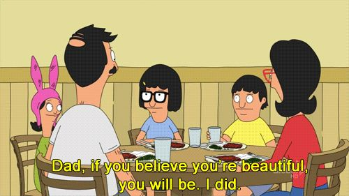 """Beauty comes from within… 