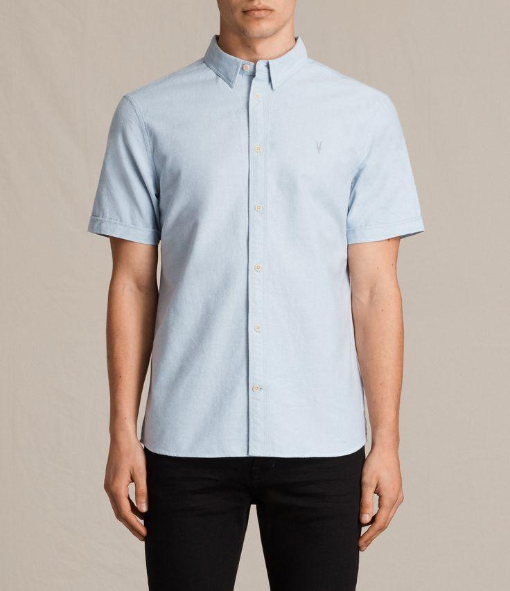 Hungtingdon Short Sleeve Shirt Large - light blue. Camisas ...