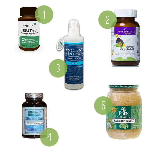 pregnancy supplement favorites - summer harms
