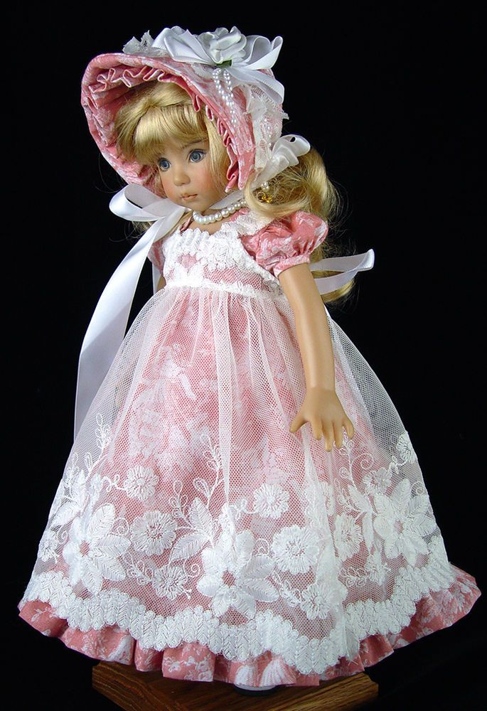 Dress fits Effner 13 Little Darling; Regency, Jane Austen. LittleCharmers  www.LittleCharmersDollDesigns.com